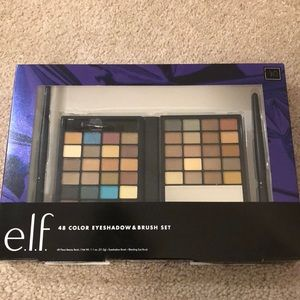 48 Color Eyeshadow and Brush Set